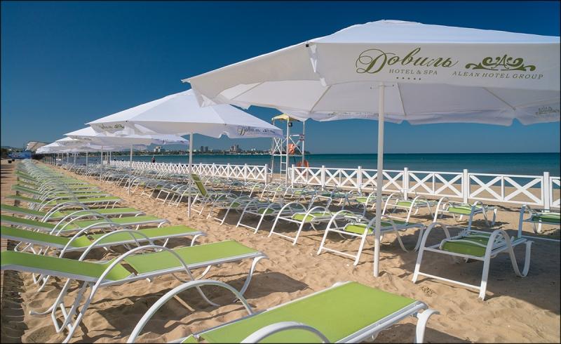 Зонт 4х4 м. пляжный, торговый, для кафе