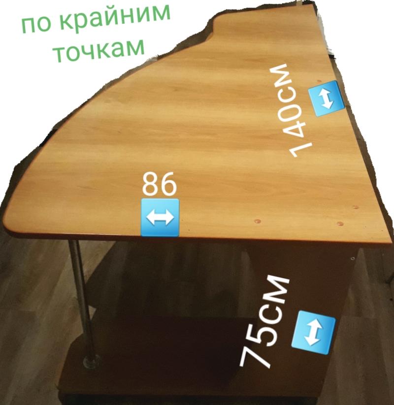 стол на колесиках с тумбой на 3 ящика